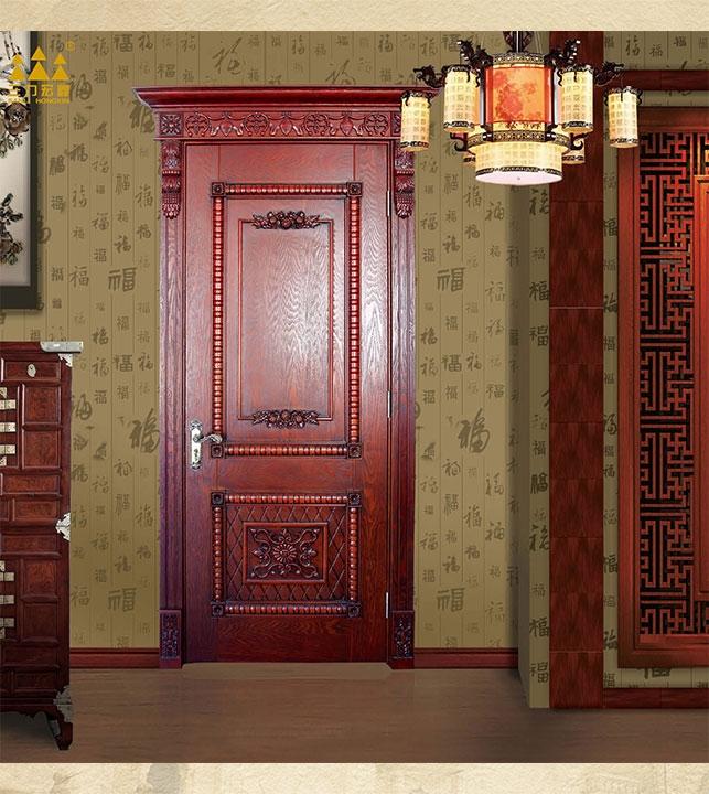 Chinese style wooden door
